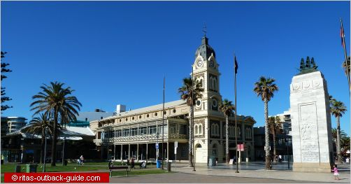 glenelg town hall and hindmarsh memorial