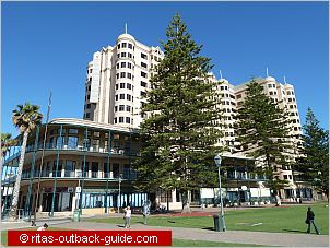 stamford grand hotel at the beach