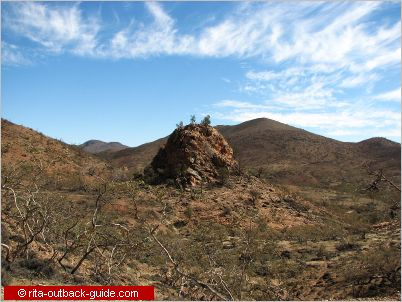pinnacle rock mawson valley