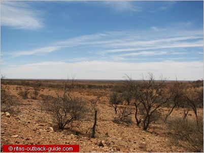 open plain in the outback