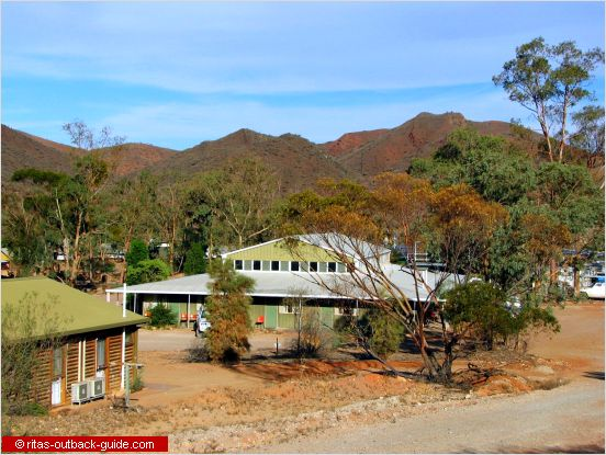 Greenwood Lodge at Arkaroola resort