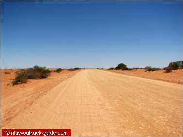 lonely outback road