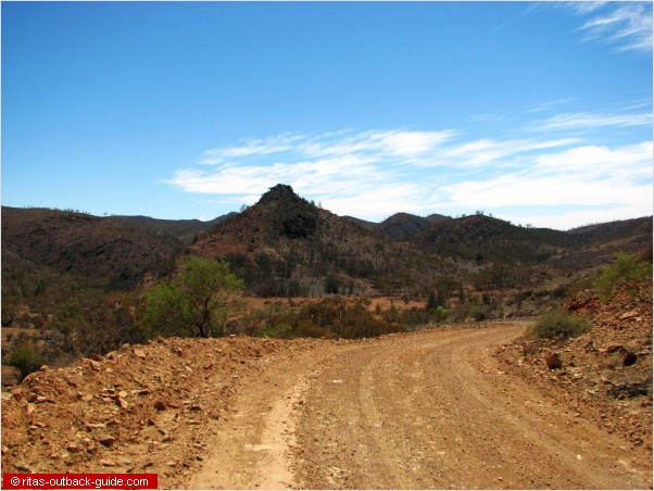 arkaroola outback road
