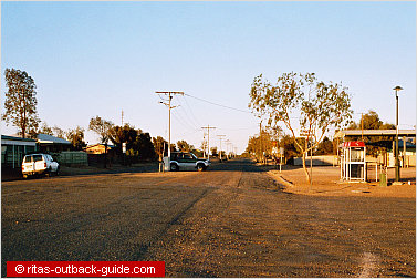 outback town