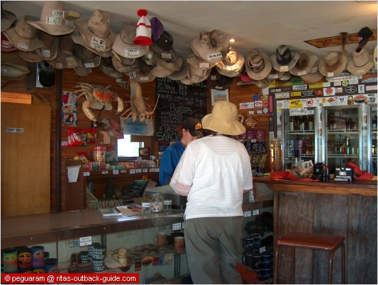 picturesque outback pub
