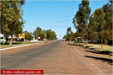 wide main street