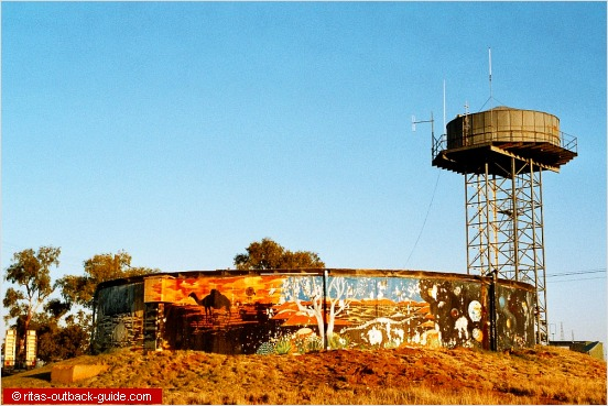 water tower and tank