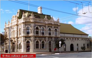 another old building is the trades hall