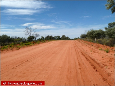 The road from Tibooburra