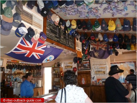 Colourful Outback Pub