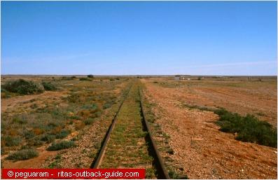 Old Ghan Track