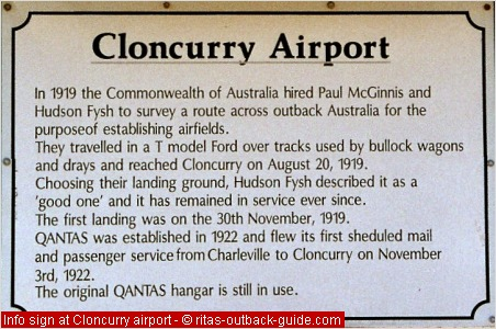 information sign at the airport