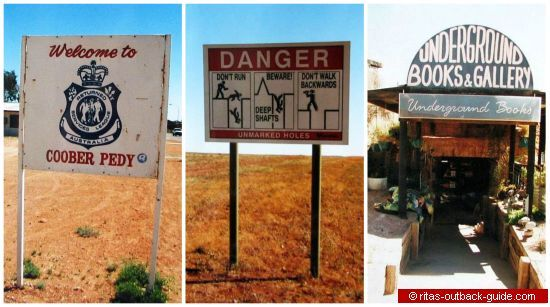 coober pedy signs