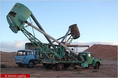 trucks and machinery