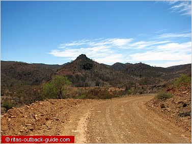 Arkaroola's impressive wilderness scenery