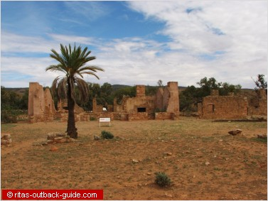 Kanyaka ruins between Quorn and Hawker