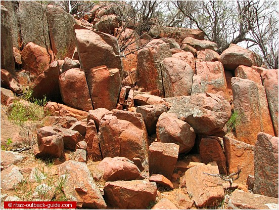 Gawler ranges natural attractions in the south for Landscaping rocks adelaide