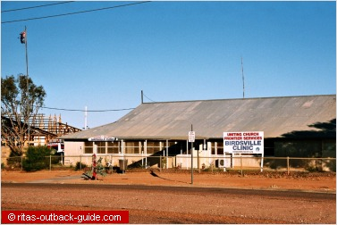 small hospital in the outback