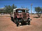 old car in marree
