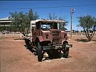 old car in marree