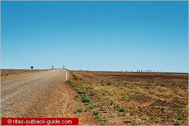 outback track