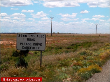 road sign silver city hwy