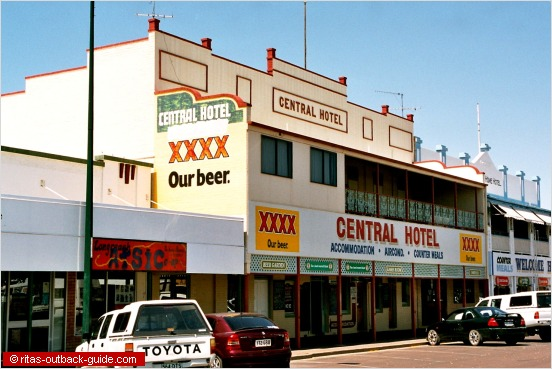 classic pub in outback