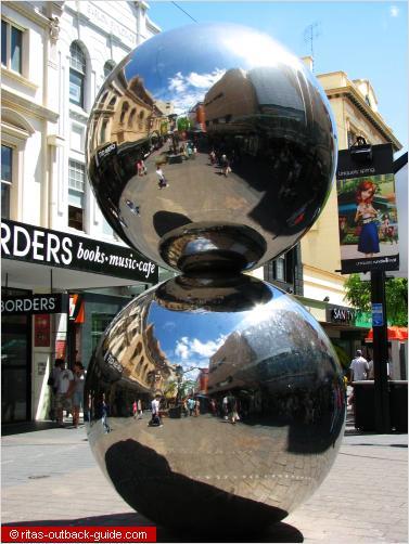 two silver balls