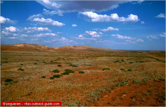the colours of the outback