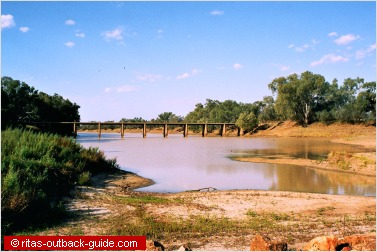 river and a bridge