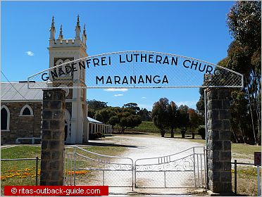 church in marananga