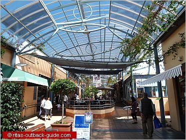 modern shopping centre