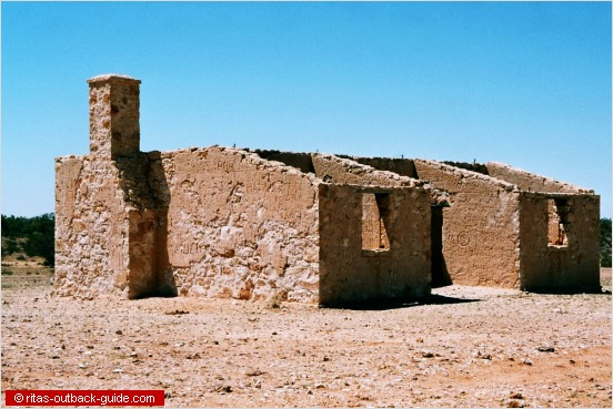 ruin in the outback