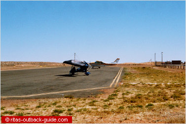 aiport in the outback