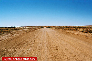 wide empty road