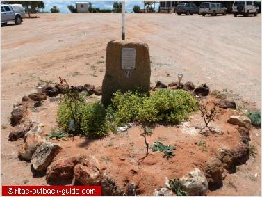 Memorial at Cameron Corner