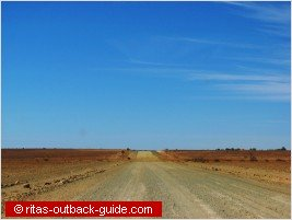 lonely road in south australia