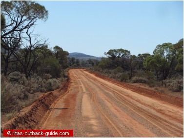 outback gravel road