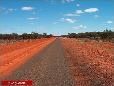 single-lane road