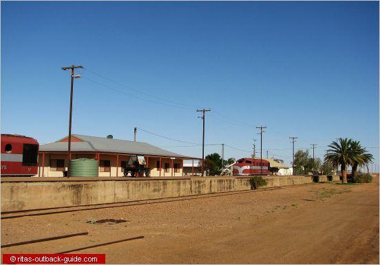 railway buildings in marree