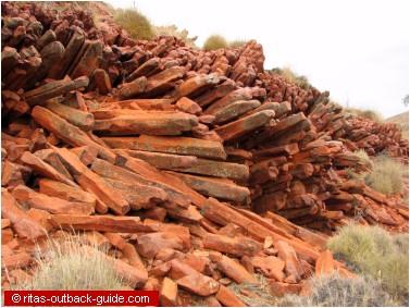 rock formation peters pillar