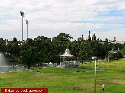 park and rotunda