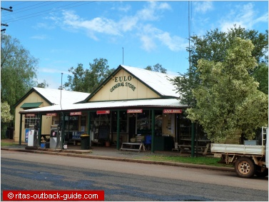 typical outback store