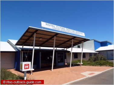 base of the royal flying doctors