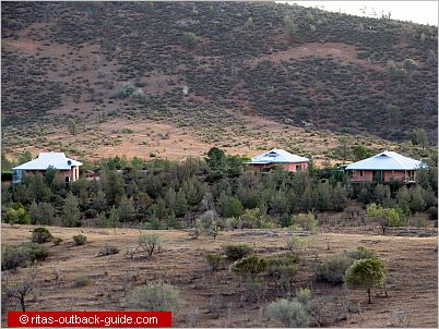 villas in a bush setting