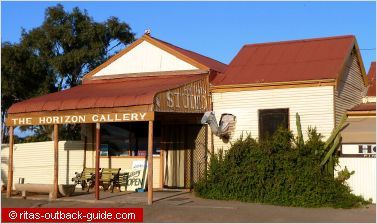 art gallery in the outback