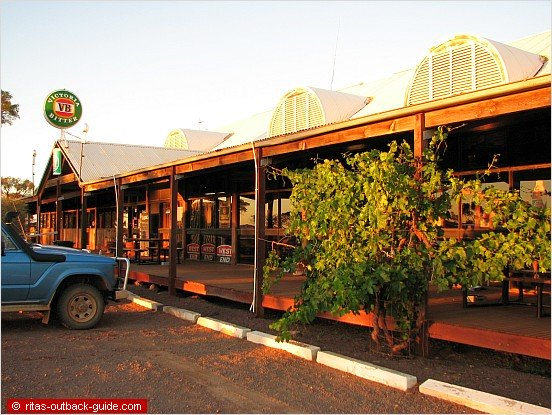 roadhouse in the outback