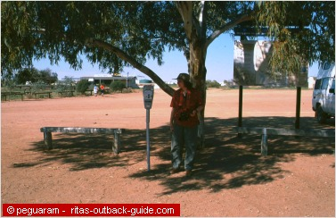 parking metre in the outback