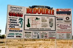 Go along the Eyre Developmental Road from Birdsville to Boulia