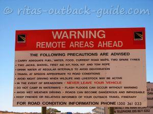 Learn about safety in the Outback